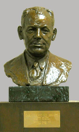 Bust of Carl Rand