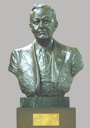Bust of Norman Topping